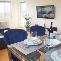 Helle Wohnung in Wolfsburg mit Fahrstuhl, 2x smart TV, 24 h checkin