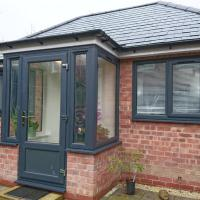 Comfortable double bedroom lovely bungalow