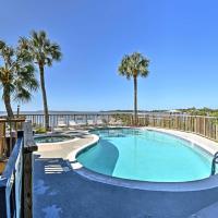 Beachfront Cedar Key Condo w/ Pool, Spa & Views!