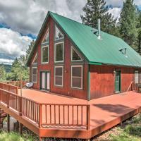 Rustic Cloudcroft Cabin on 10 Acres w/Grill & Deck
