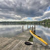 Lake Winnipesaukee Cottage w/ Kayaks & Dock!