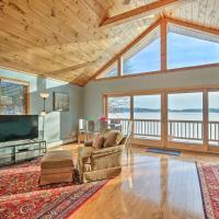 Lake House w/ Deck & Views, Mins to Jiminy Peak!