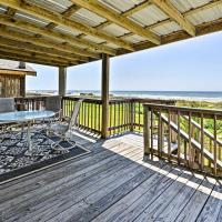 2BR Galveston House w/Private Deck & Gulf Views