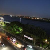 Charming sunset,Panoramic Nile view & pyramid view