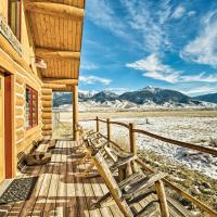 10-Acre Yellowstone Cabin w/Stunning Mtn View