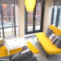 Leeds Elegant Penthouse 2 Bed 2 Bath & Free Parking