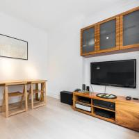Chic 1 bed Belsize Park flat, 6mins to underground