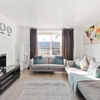 Modern 2bed, 2bath apartment near Canary Wharf