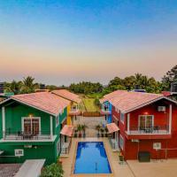 Ludo Villa, Pool-WiFi-Caretaker-Parking, North Goa