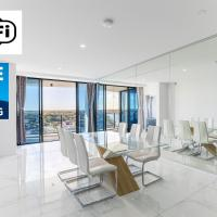 Waterview 3BR modern apartment near Harbour Town - Waterpoint