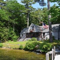 Lakefront Meredith Home w/ Dock + Boat Slip!