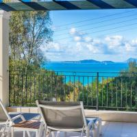 Villa Afionas - 3 minutes from the beach with heated Eco-Pool