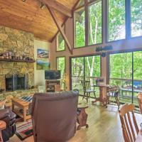 Linville Land Harbor Cabin w/ Deck & Views!