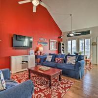 Galveston Beach House w/ Ocean Views+2 Decks!