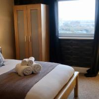 Fantastic 2 BED APT. Close to the ARENA sleeps 4