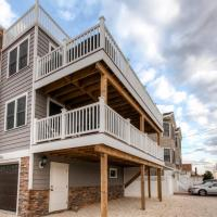 Recently Renovated LBI Apt w/Deck on Beach Block