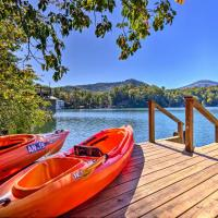 Private Lake Lure Cottage w/Boathouse & Decks