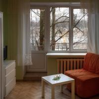 Карамель и мята - однокомнатная квартира в Петербурге