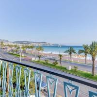 Panoramic view apartment on the Promenade des Anglais. (air conditioning)
