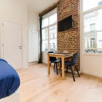 Cosy red-brick studio (close to Grand-Place & Bourse)