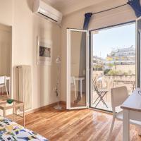 Studio with sunny balcony in Exarcheia