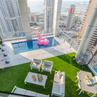 4 BDR Marina Penthouse I Private Pool & Terrace