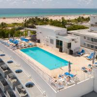 Ocean drive units Rooftop pool with ocean view