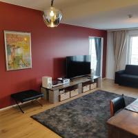 Riverside Lux with 2 bedrooms, 2 underground garages and sauna