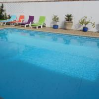 RDC maison avec piscine chauffée 28/30° Les Palmiers