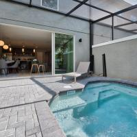 Near Disney World - Le Reve - Amazing Contemporary 4 Beds 3.5 Baths Townhome - 6 Miles To Disney