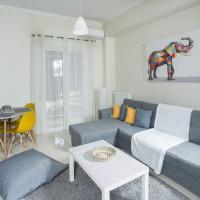 Modern apartment-5 min.Metro station Agia Marina