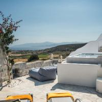 Villa Life with private jacuzzi in Paros