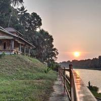 River facing private 1BHK brickhouse -Entire villa