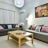 Pleasant flat next to Panormou Metro Station