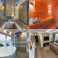 Hammam , big Jacuzzi ,Sauna , 2 bedroom , Khrechatik