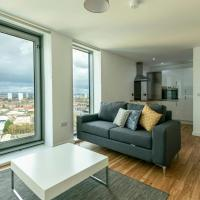 Bright Apartment in Media City with stunning views of the city
