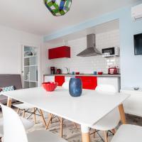 Seda - Estupendo piso de 1 hb para hasta 6 pers, 2 baños y terraza compartida