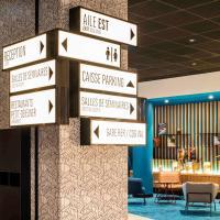 ibis Paris CDG Airport, hotel perto de Aeroporto de Paris - Charles de Gaulle - CDG, Roissy