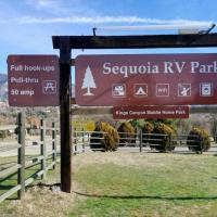 """Sequoia RV Park"" Tent site with electricity, site only, does NOT include tent"