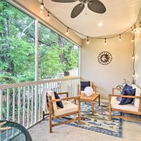 Airy, Coastal Townhome 6 Mi to Honeymoon Isle