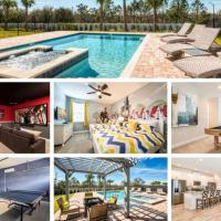 9 Bd Luxury Villa 10 min from Disney Orlando