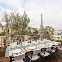 Beautiful Apartment Overlooking The Turn Eiffel