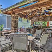 Nautical Ocean Isle Beach Cottage w/Outdoor Space!
