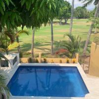 Casa Mojo - Pool overlooking the Marina Golf Course