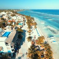 Hotel Blue reef con alberca & frente al mar