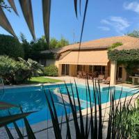 Villa Cap d'Antibes Piscine & Plage des ondes à Pied