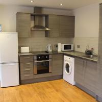 3 bed apartment with on site parking in city centre