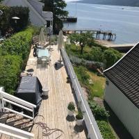 Nyoppusset leilighet 30 m fra strand og brygge