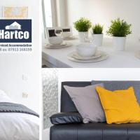 """Book Today"" - 3 bed house, Sleeps up to 9, Free Private Parking, Perfect for Family & Business Travelers - Hartco Serviced Accommodation Birmingham"
