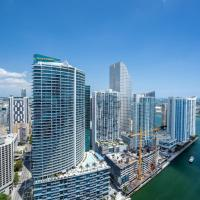 High Rise Luxury Ocean Corner Unit 2/2 - Icon Brickell
